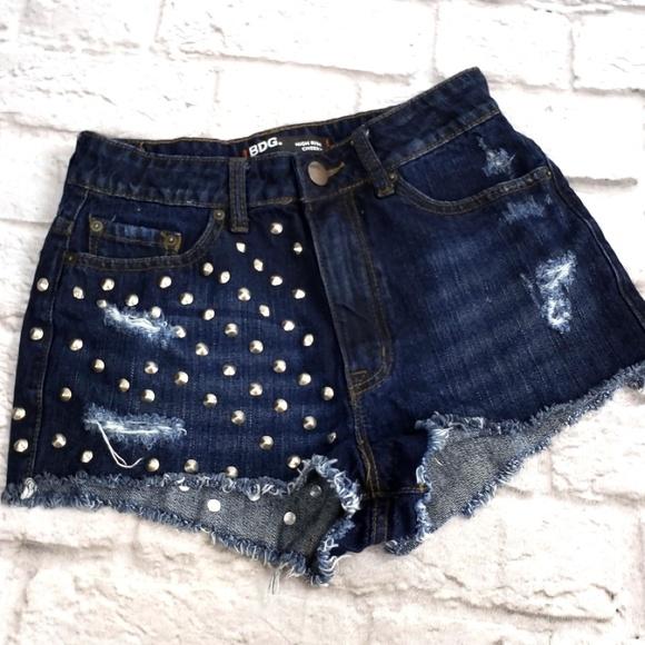 fd97658c2d BDG Shorts   High Rise Cheeky Jean Size 27   Poshmark